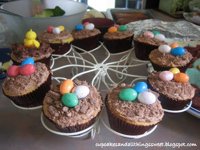 images of easter cupcakes. decorate easter cupcakes