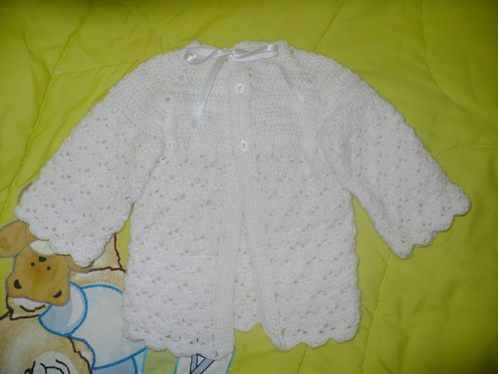 Ropon De Crochet Para Nino Dios