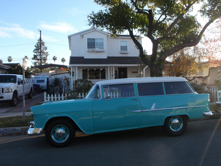1955 Chevy 210 Wagon