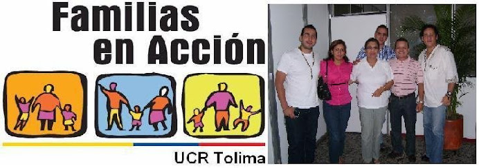 FAMILIAS EN ACCION TOLIMA