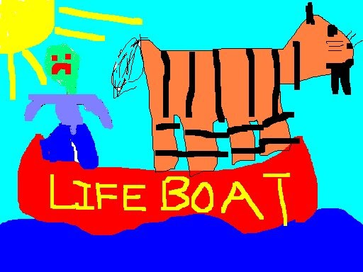 Life of pi life boat for Life of pi explained