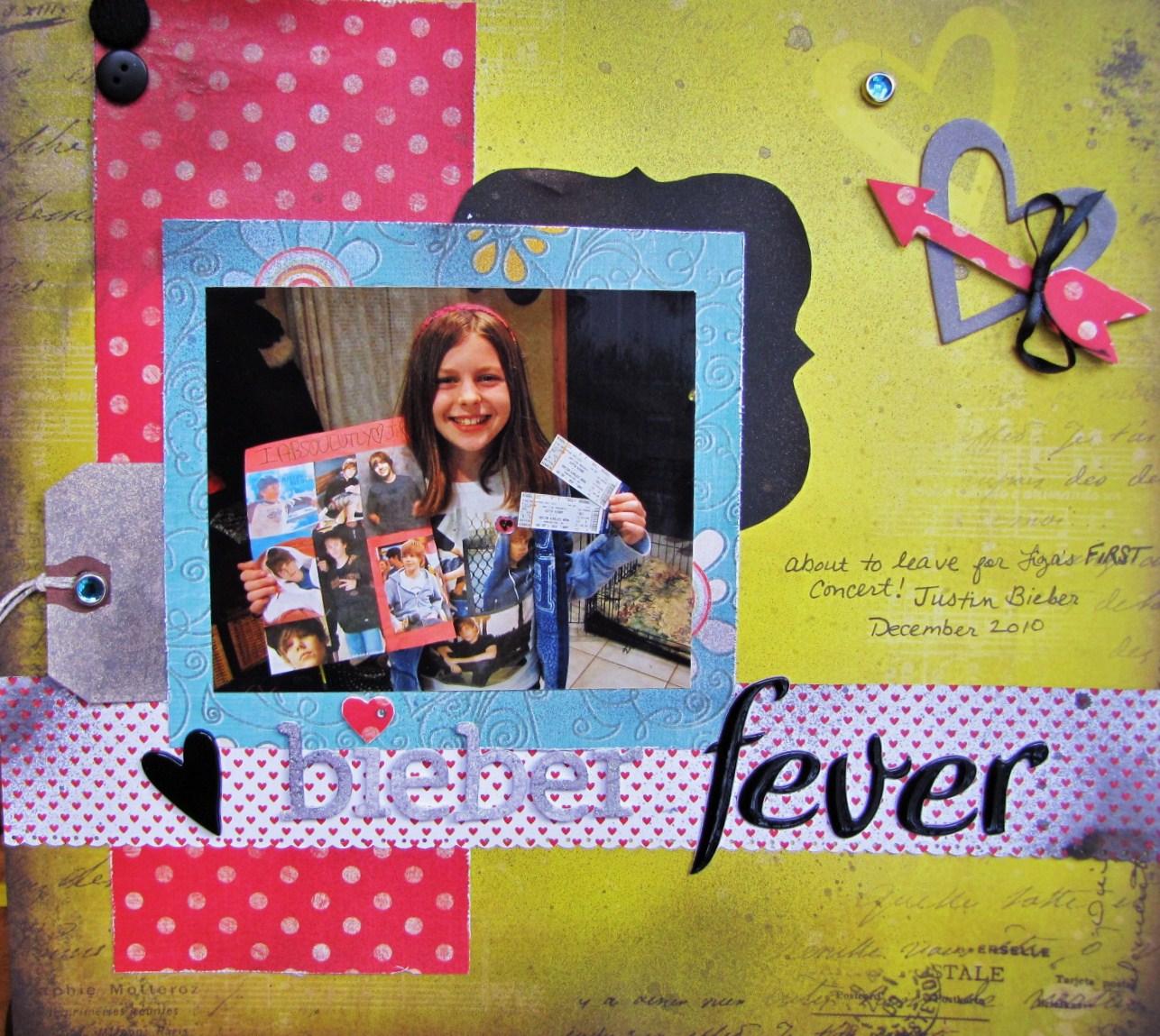 Justin bieber scrapbook ideas - Justin Bieber Fever