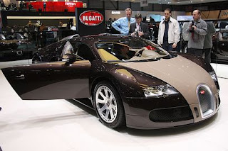 New 2010 Bugatti Veyron Swing Door