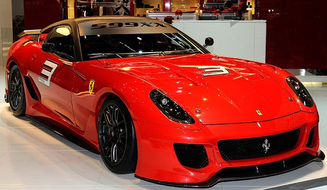 Auto Modification Ferrari 599