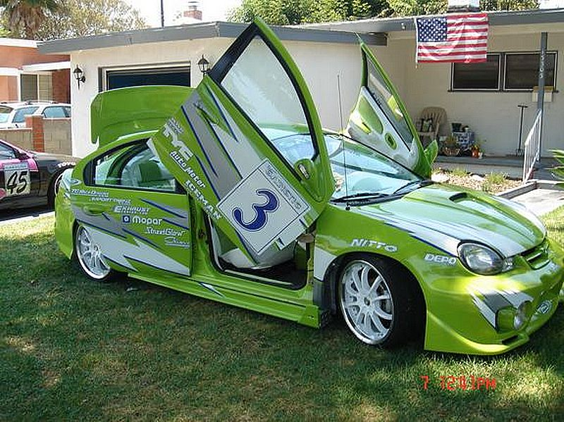 Lindsay Perfect Dodge Neon 2000 Supercar Modification Concept