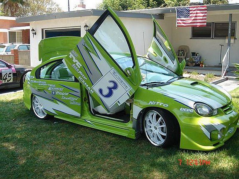 Lindsay Perfect Dodge Neon 2000 Supercar Modification Concept