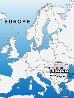 Romania on Europe