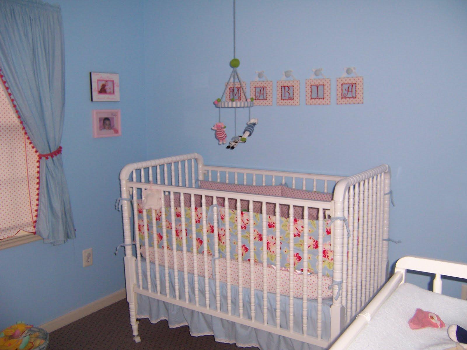 Bibbidi Baby Girl Nursery Plans.