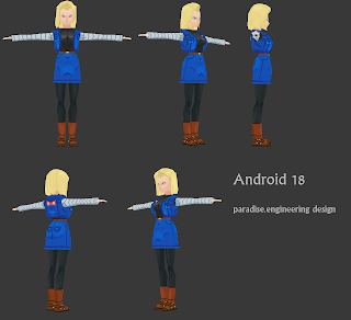 android18 3d