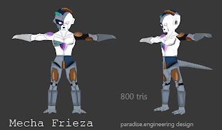 mecha Frieza 3d model