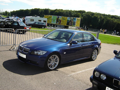 bmw 330d e90 m sport package monaco blue