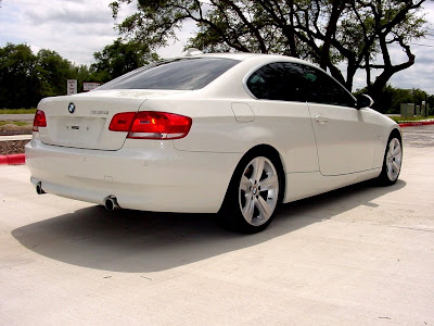 alpine white bmw 335i coupe