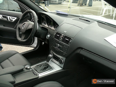 Mercedes Benz c63 amg interior