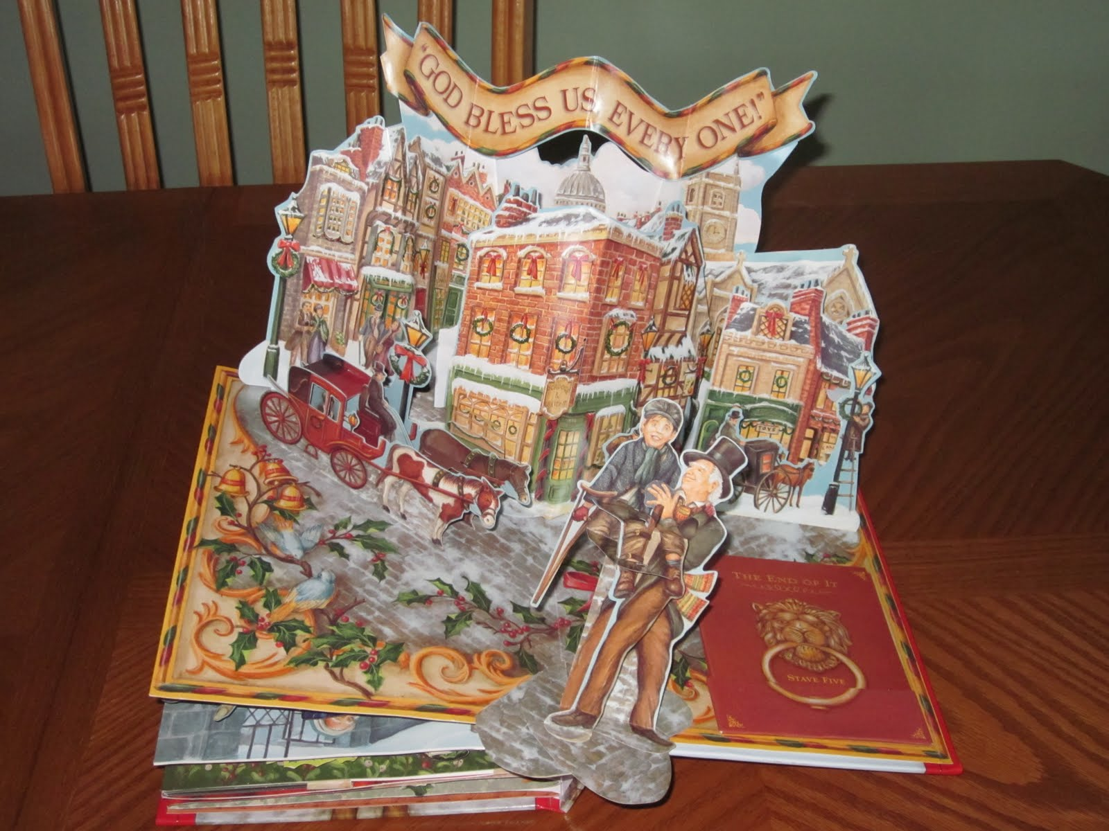 Christmas Carol Pop-up Book