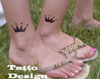 Foot Tattoos Designs for Girls