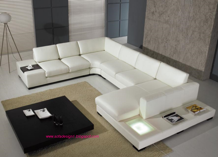 Modern Living Room Sectional Sofas (4 Image)