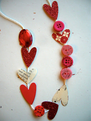 crafty jewelry and more: heart strings tuorial