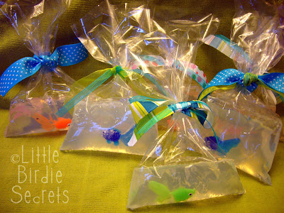 Fish in a bag soap little birdie secrets for Fish in a bag soap