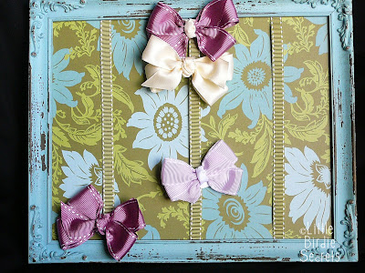 craft for home decor and memory: hairbow holder tutorial