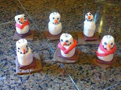 gimme s'more - cute clay ornaments   Little Birdie Secrets