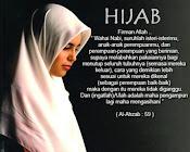 Labuhkan hijab dan pakaianmu