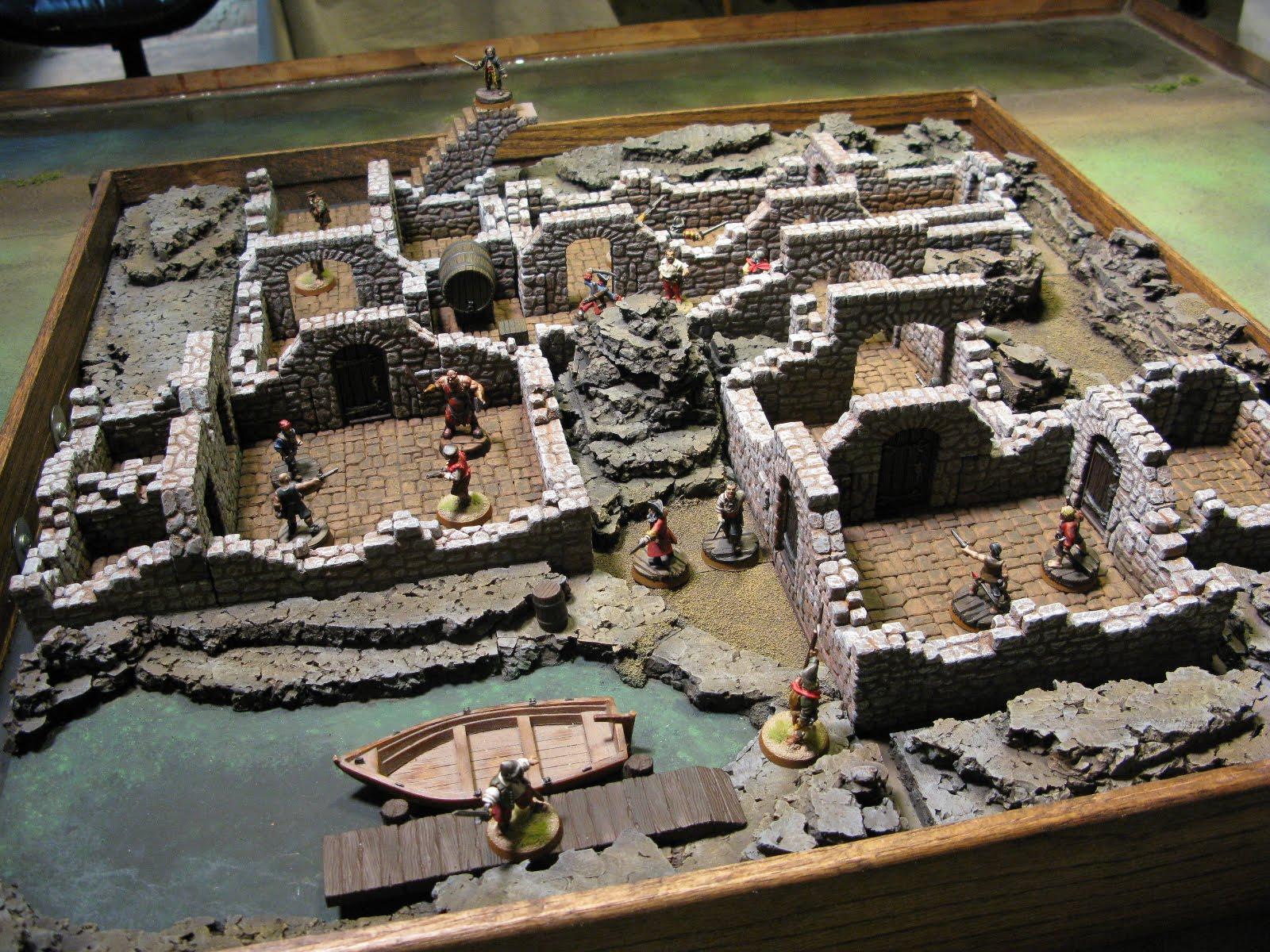 Mordheim Fantasy Skrimish Table Warhammer Fantasy