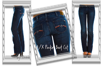 Armani Exchange Boot Cut Jeans