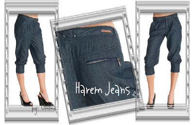 Armani Exchange Denim Harem Jeans