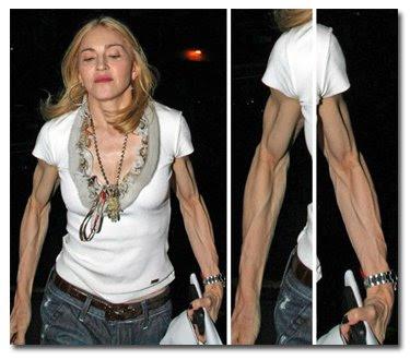 Madonna- Madonna's arms