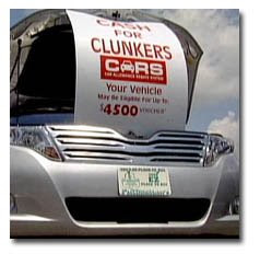 Cash for clunkers-cash for clunkers government program