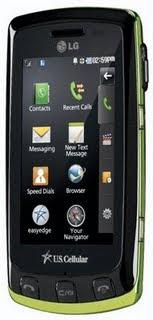 LG Bliss phone
