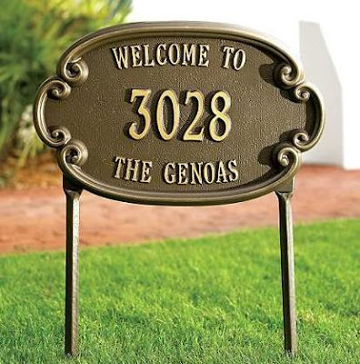 Address Plaques and Address Signs