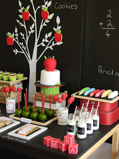 Back to School Party from Just Call Me Martha Blog