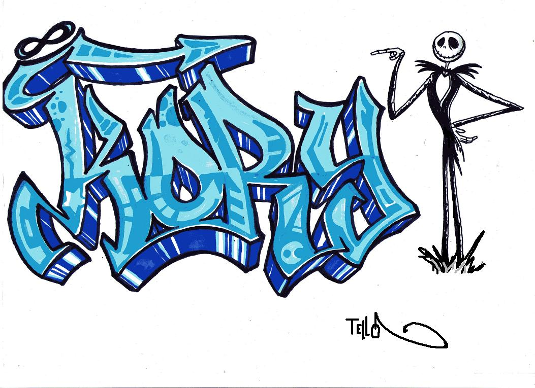 Graffitis A Lapiz