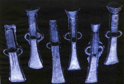 Machados de bronce