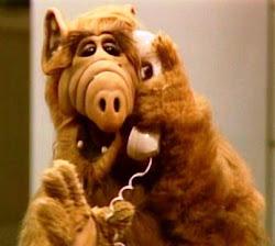 Alf siempre boludeando