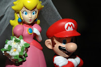 Super Mario Wedding Cakes