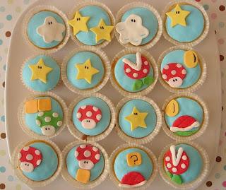 Mario Cupcakes - hello naomi