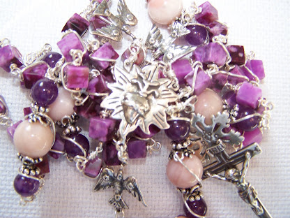 No. 54.  Sacred Heart Rosary- ( NEW )