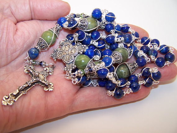 No. 51.  All Saints Rosary (SOLD)