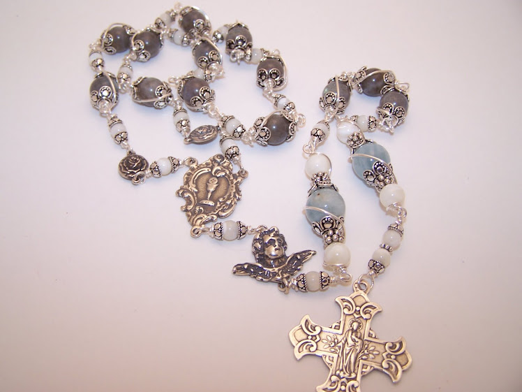 NO. 72.  Single Decade Rosary Of The Holy Eucharist. Completed 19 Oct 2010