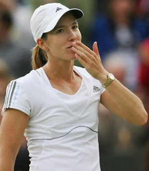 Justine Henin Hot Tennis Wallpaper