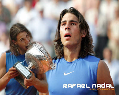 Rafael Nadal Top Tennis Player 2009 Win Pictures