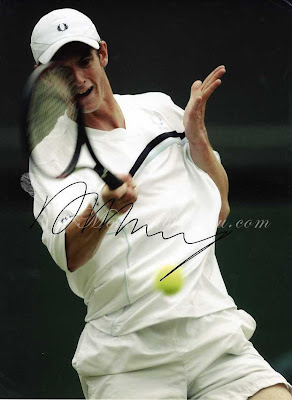Andy Murray Serving Tennis Pics