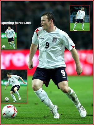 Wayne Rooney Sporting Heroes Pictures