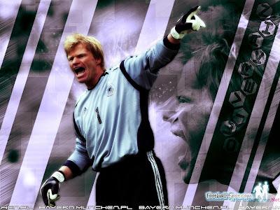 Oliver Kahn Top Soccer Player Wallpaper
