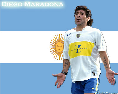 Diego Maradona Top Soccer Player Gallery