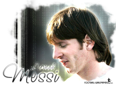 football players wallpapers messi. Lionel Messi started playing