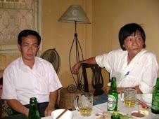 Đào Tấn Trực và nhà văn Đoàn Thạch Biền