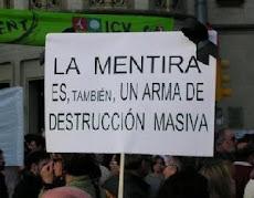 La mentira: arma de destrucción